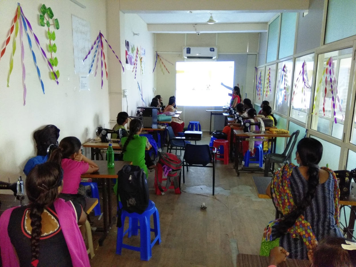 SonaYukti Self Employed Tailor Training Classroom