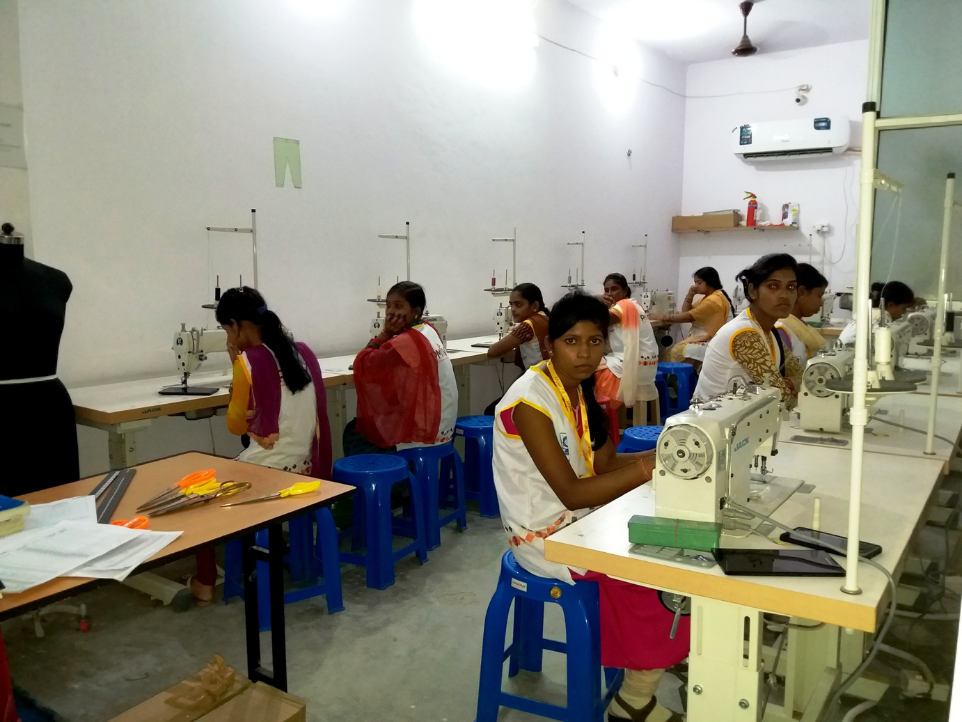 SonaYukti Sewing Machine Operator Training Course