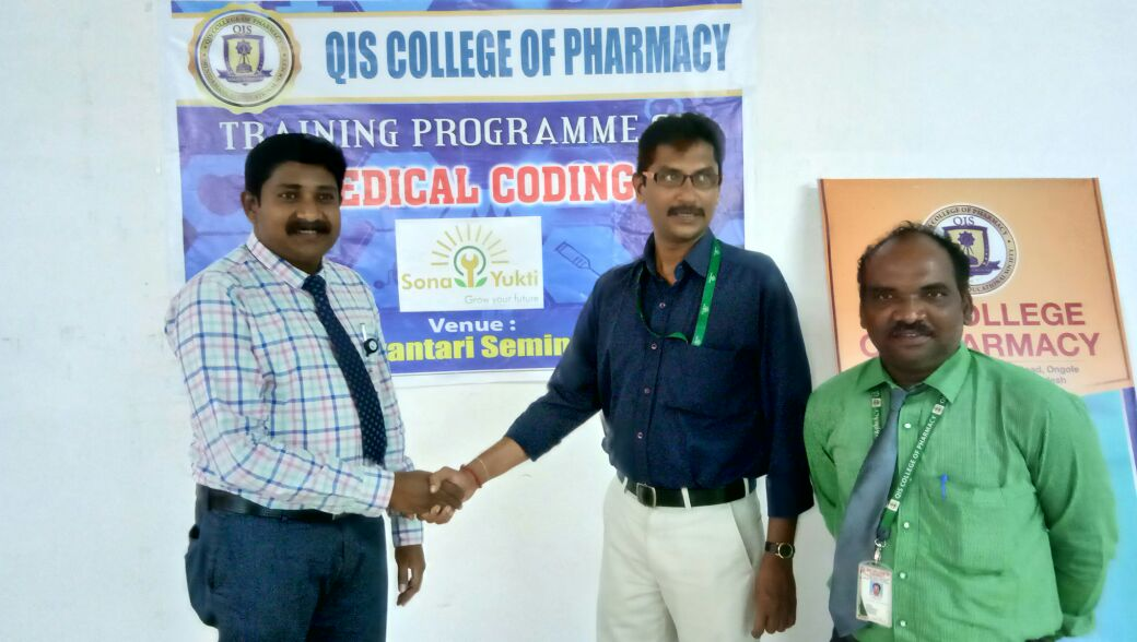 Medical Coding Training at QIS College of Pharmacy