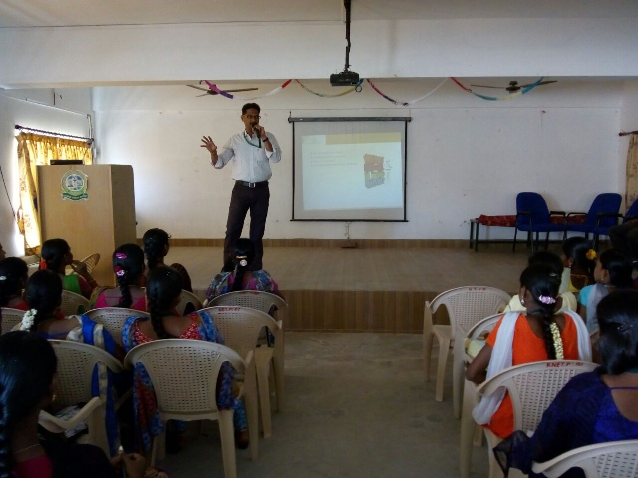 NSDC training at Kongunadu Arts & Science College, Tamil Nadu