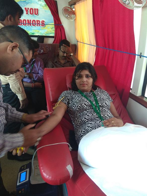 Sona Yukti Bareilly Center Organizes Blood Donation Camp