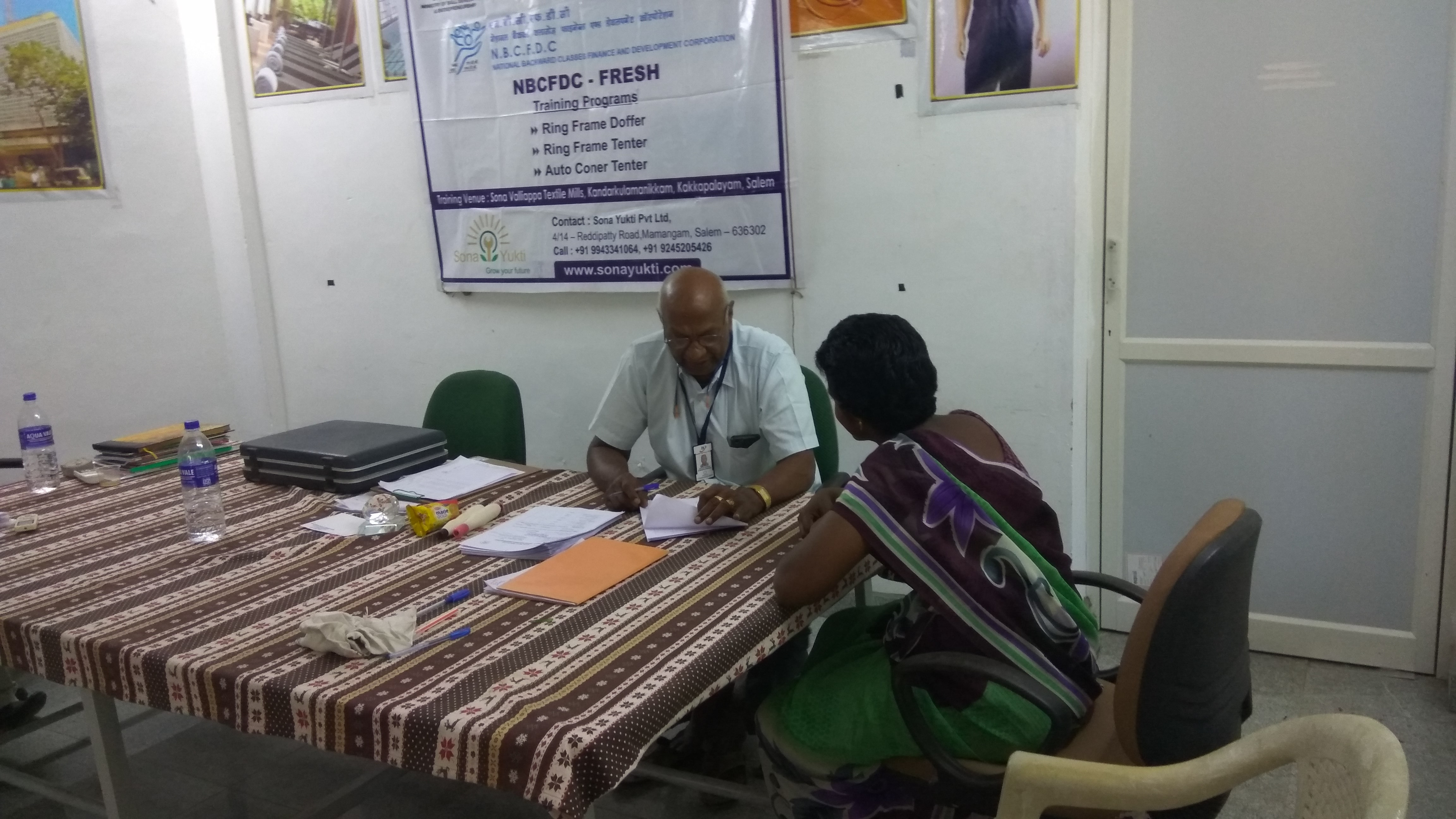 NBCFDC Sona Yukti Short Term Textile Training Courses