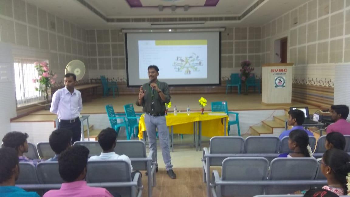 Soft skills and placement training at Sri Vidya Mandir Arts & Science College, Uthangarai