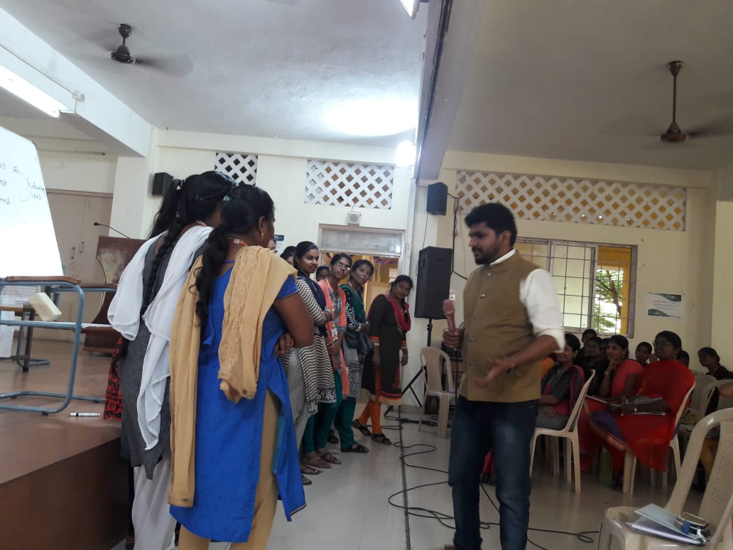 Soft skills and Placement training at Sri Kanyaka Parameswari Arts and Science College for Women, Chennai