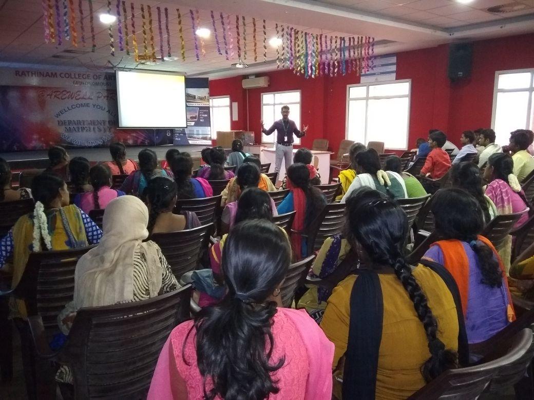Soft skills and medical coding demo workshop at Rathinam Group of Institutions