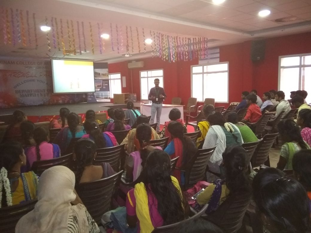 Soft skills and medical coding demo workshop at Rathinam Group of Institutions