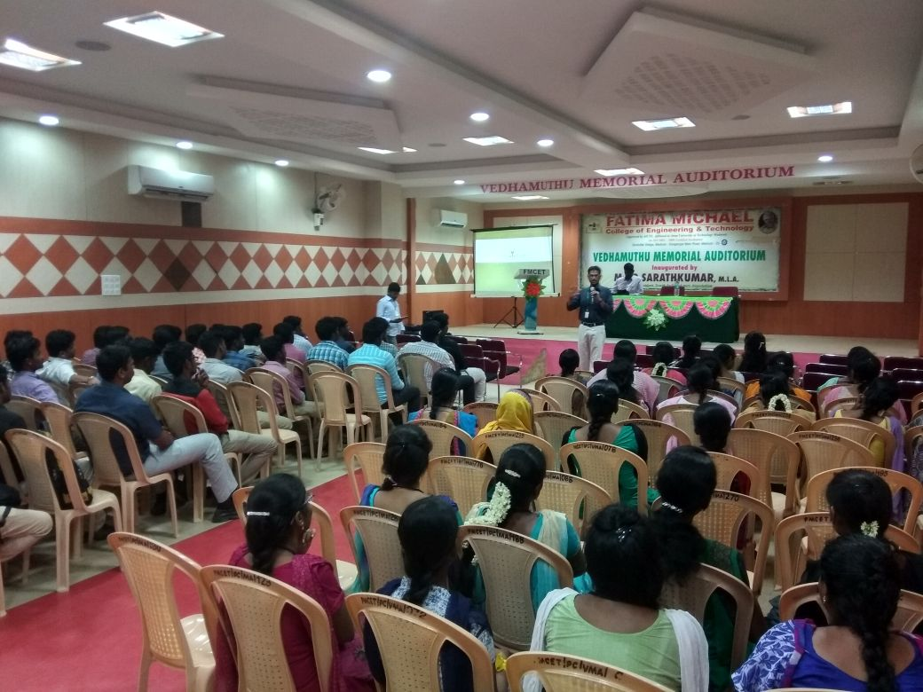 Soft skills and job placement training at Fatima Michael College of Engineering & Technology, Madurai