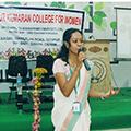 Skill training session at Tiruppur Kumaran Women's College, Tiruppur