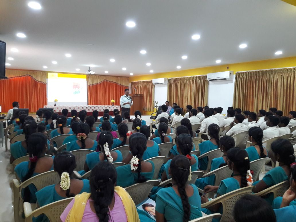 Sona Yukti conducted soft skills training & career guidance for the students of Sri Ganesh College of Arts & Science
