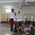 Sona Yukti's soft skill training workshop at Vidyasagar College of Arts and Science