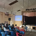 Soft skills training and BPO process workshop conducted at Nadar Mahajana College by Sona Yukti