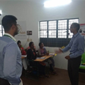 Career talk by AGM-HR, HTC Global Solutions to TMF students