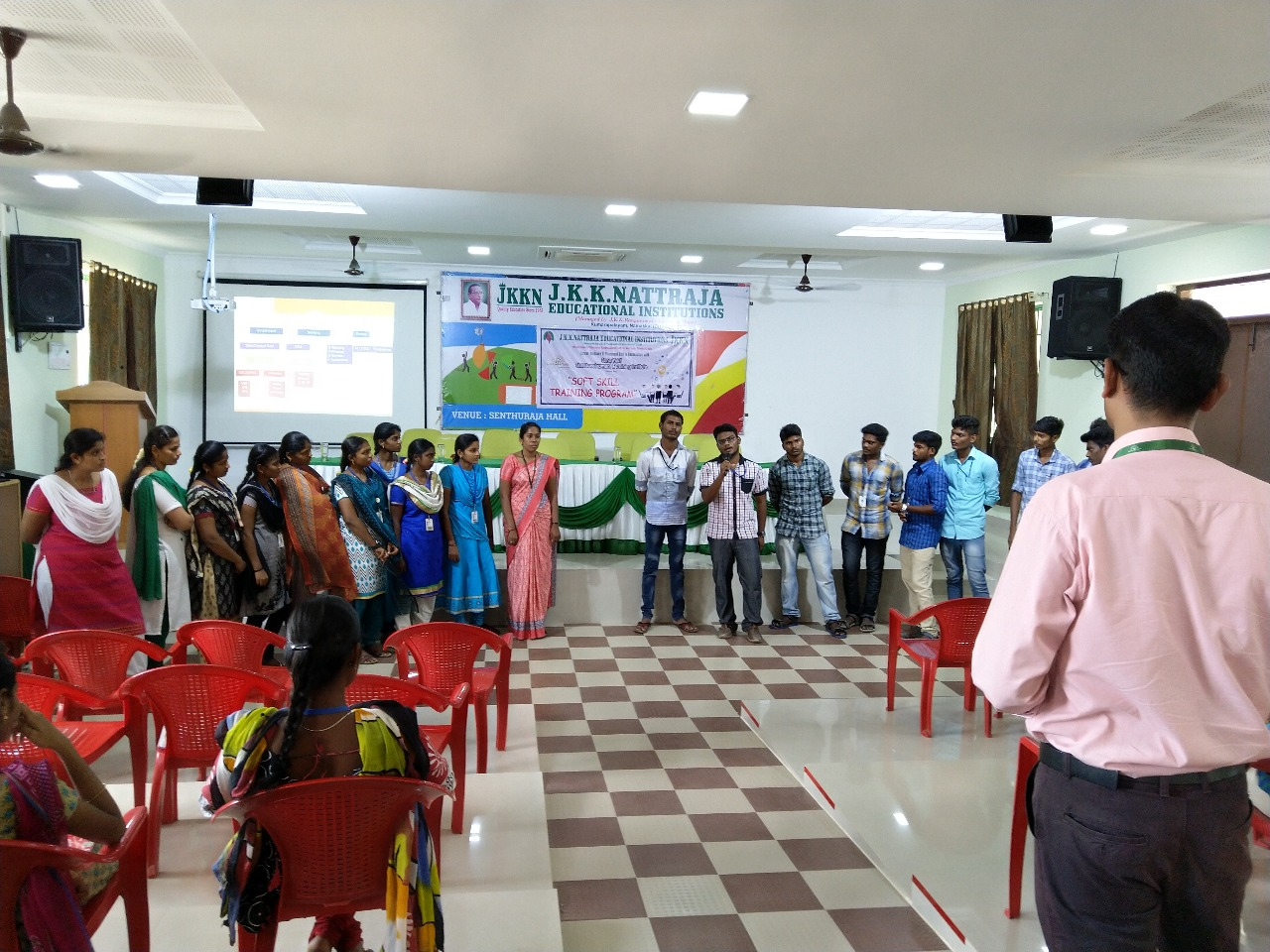 Soft skills and placement training at JKKN College of Arts & Science and JKKN College of Education
