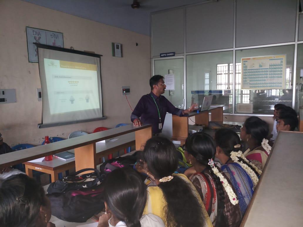 Sona Yukti's medical coding demo training at SVN College