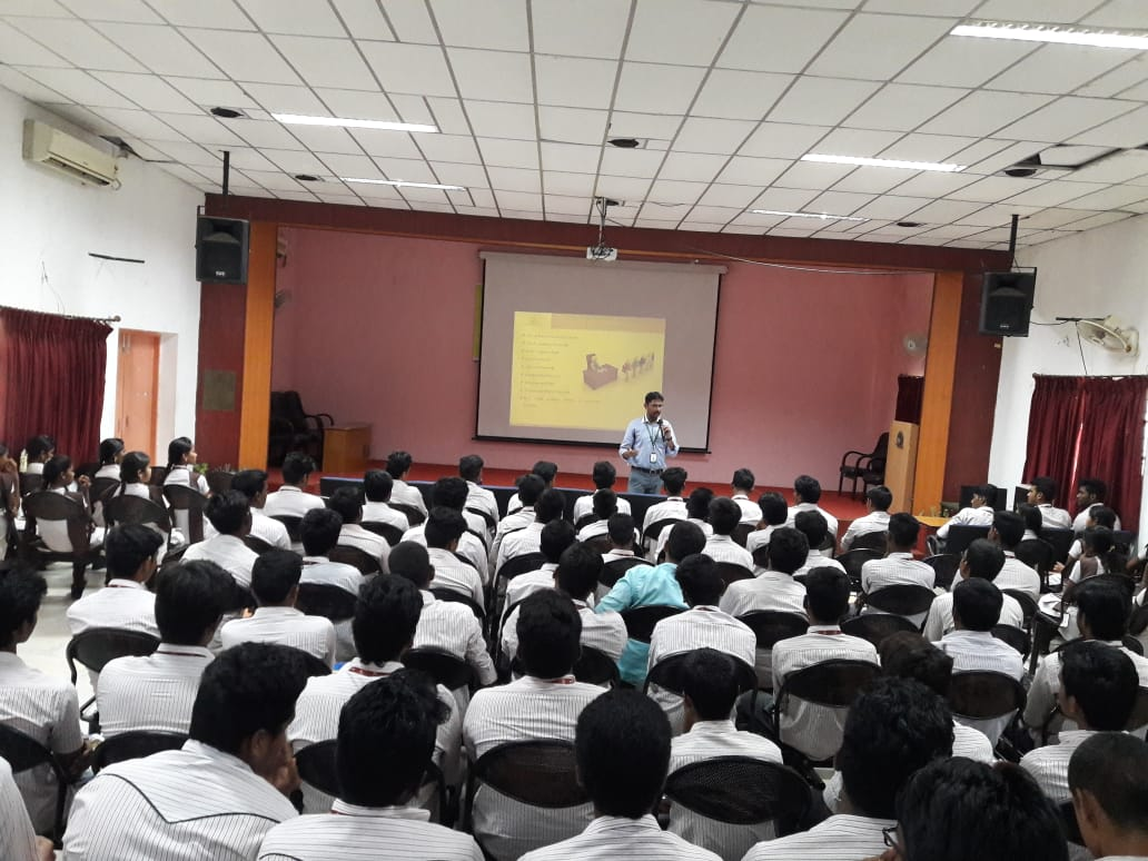 Soft skills training at CSI Polytechnic College, Salem