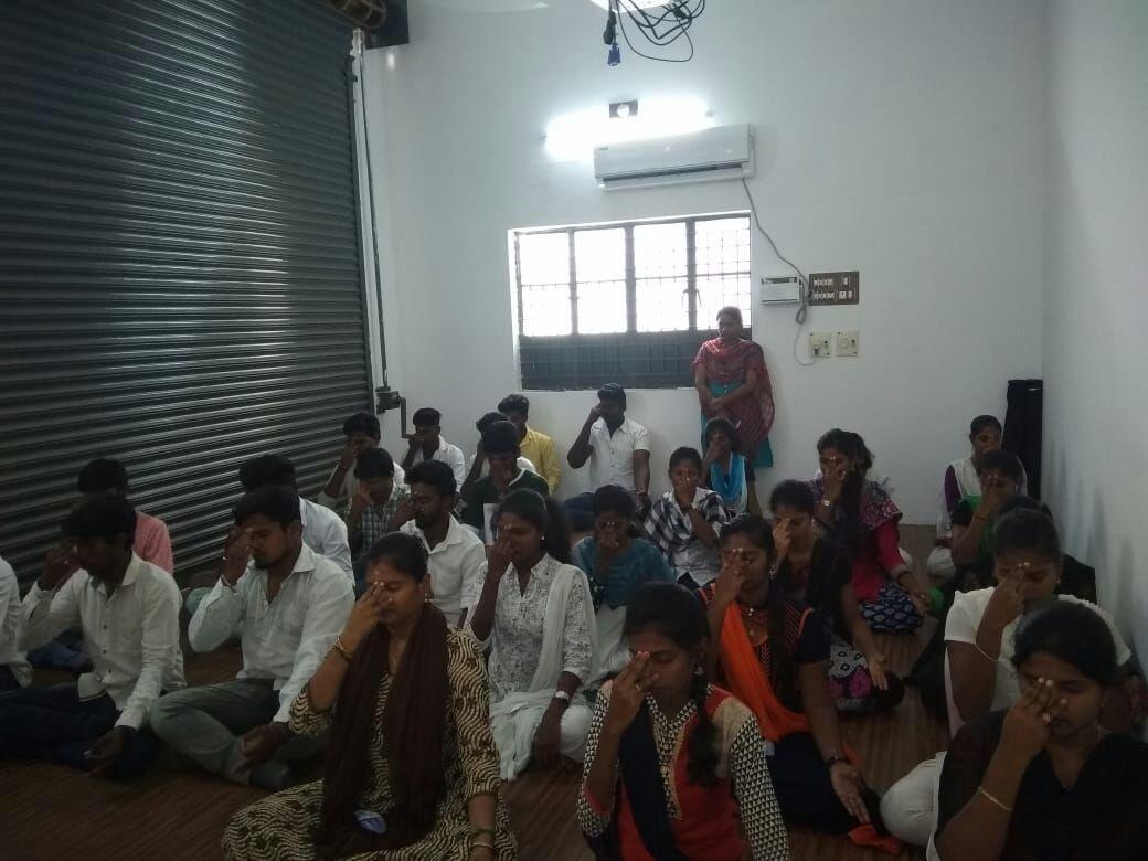 Sona Yukti, Tech Mahindra Foundation (TMF) celebrated International Yoga Day in Chennai