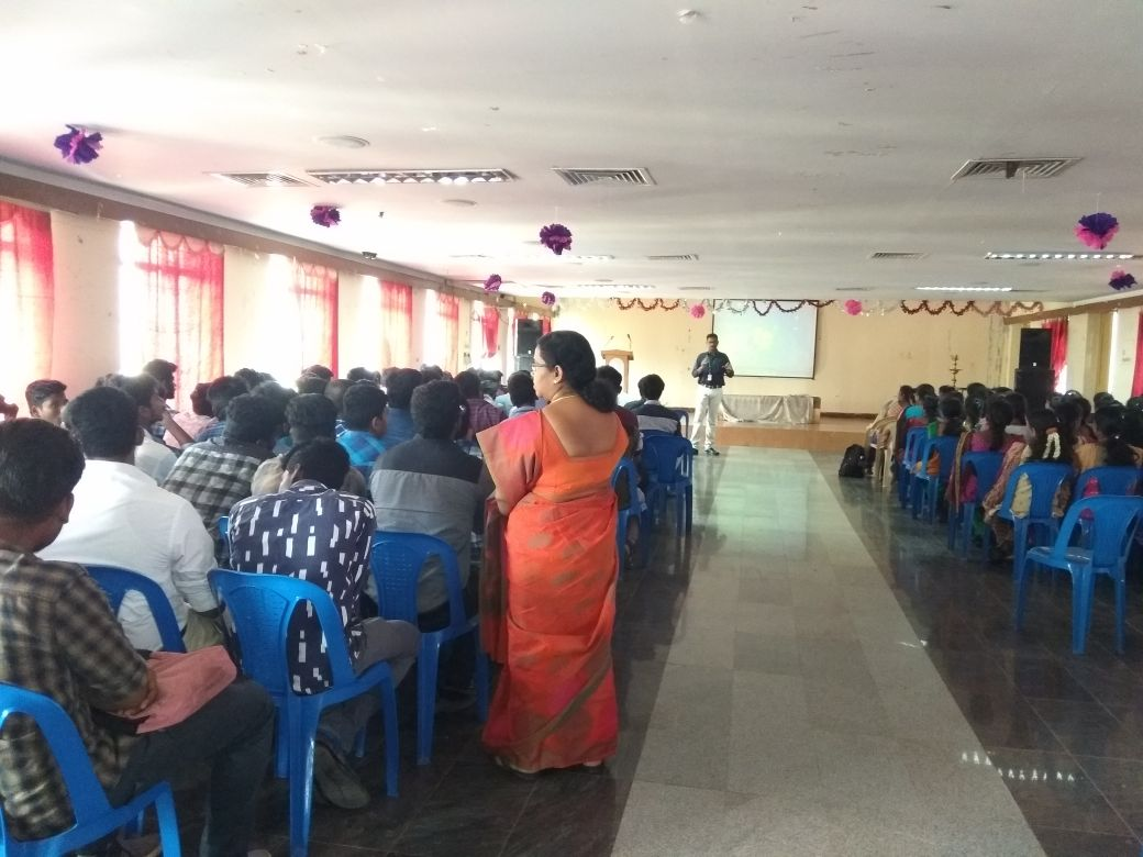 Sona Yukti's training workshop at Madha College of Engineering, Chennai