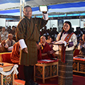 Sona Yukti at the 15th National Job Fair in Thimphu, Bhutan