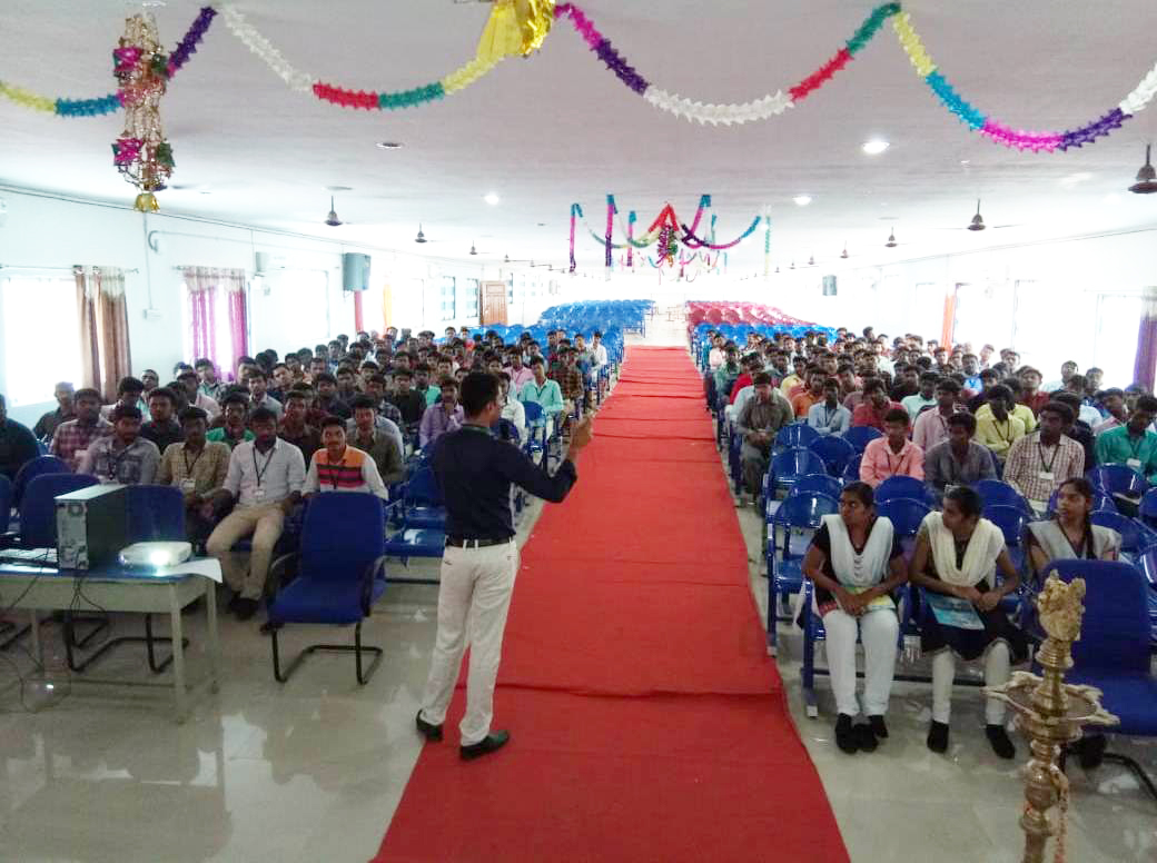 Soft skills and Placement training at SBM College of Engineering - Dindigul