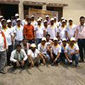Saubhagya OJT program by Sona Yukti held at Azamgarh, UP