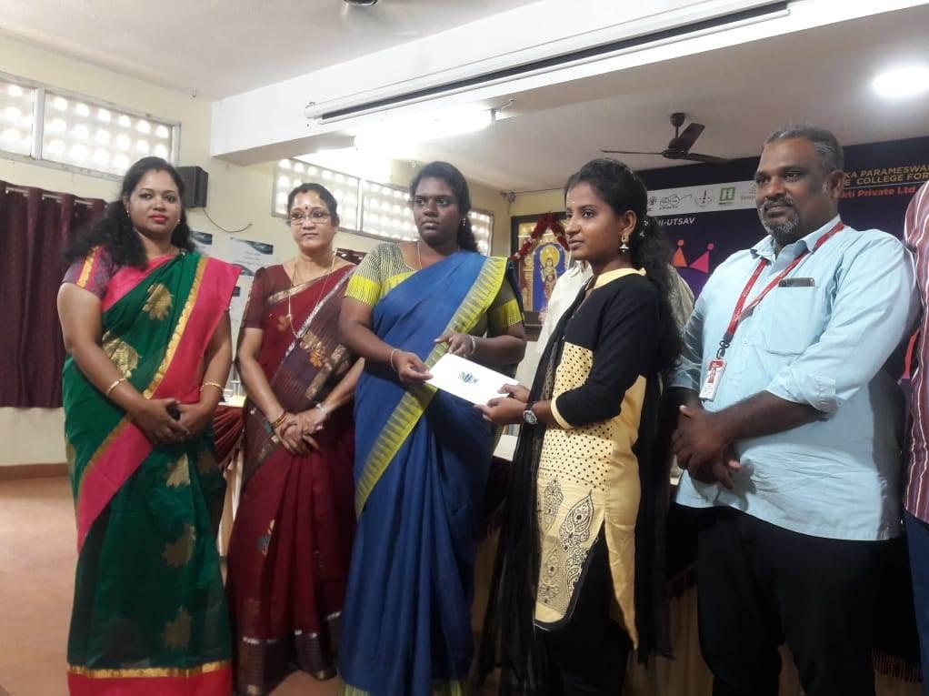 Mega Job Fair at  Sri Kanyaka Parameswari Arts and Science College for Women, Chennai