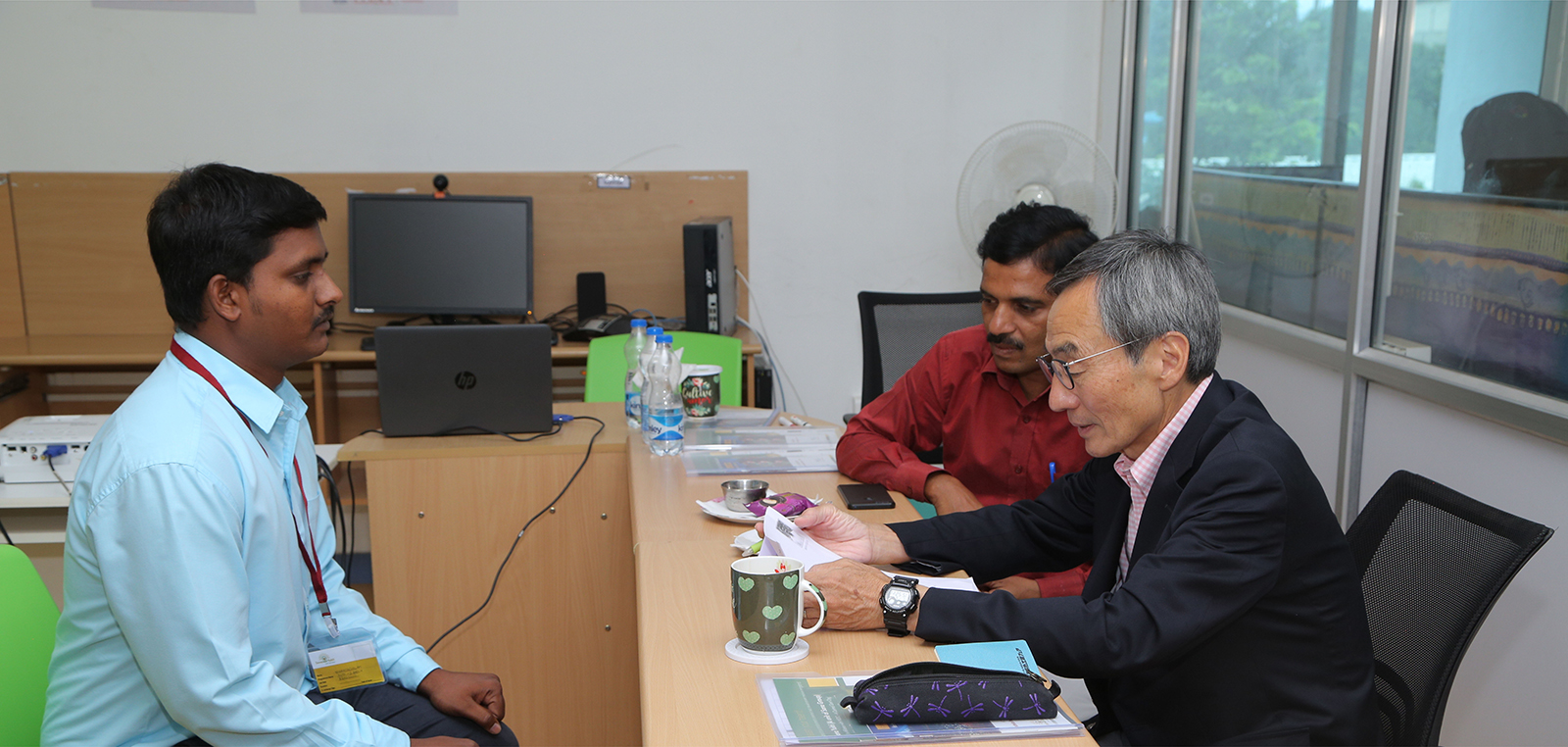 Japanese Delegate, Mr. Abe from Toyokoto Visited Sona Yukti