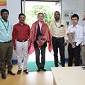 Japanese Delegate, Mr. Abe from Toyokoto Visited Sona Yukti