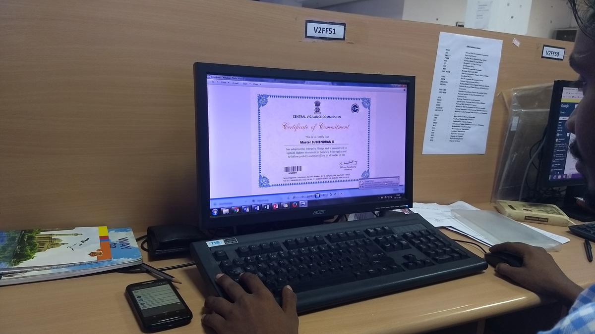 SonaYukti in Vigilance Awareness Week