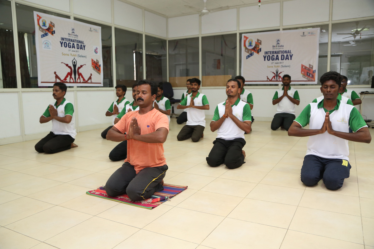 SonaYukti International Yoga Day - Celebration 2017
