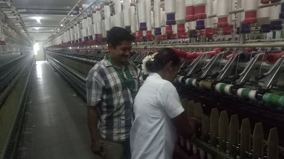 Textile Training Program conducted in association with NBCFDC