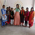 Fashion trends created by Sona Yukti's apparel trainees