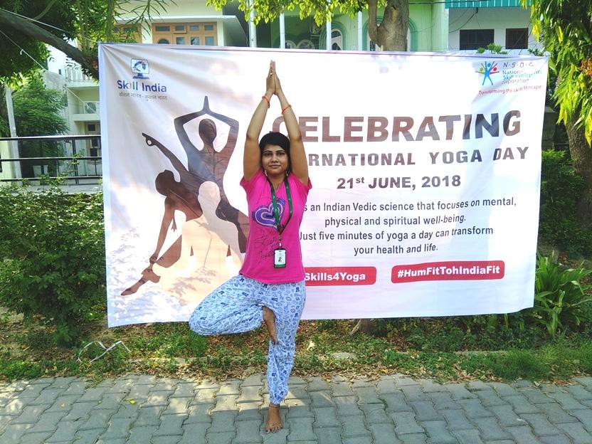International Day of Yoga 2018 celebrated at Sona Yukti's Bareilly center