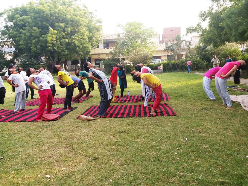 International Day of Yoga 2018 celebrated at Sona Yukti's Bareilly center