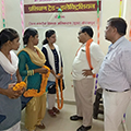 Visit by the MLA and DUDA officials to the Sona Yukti Gorakhpur center