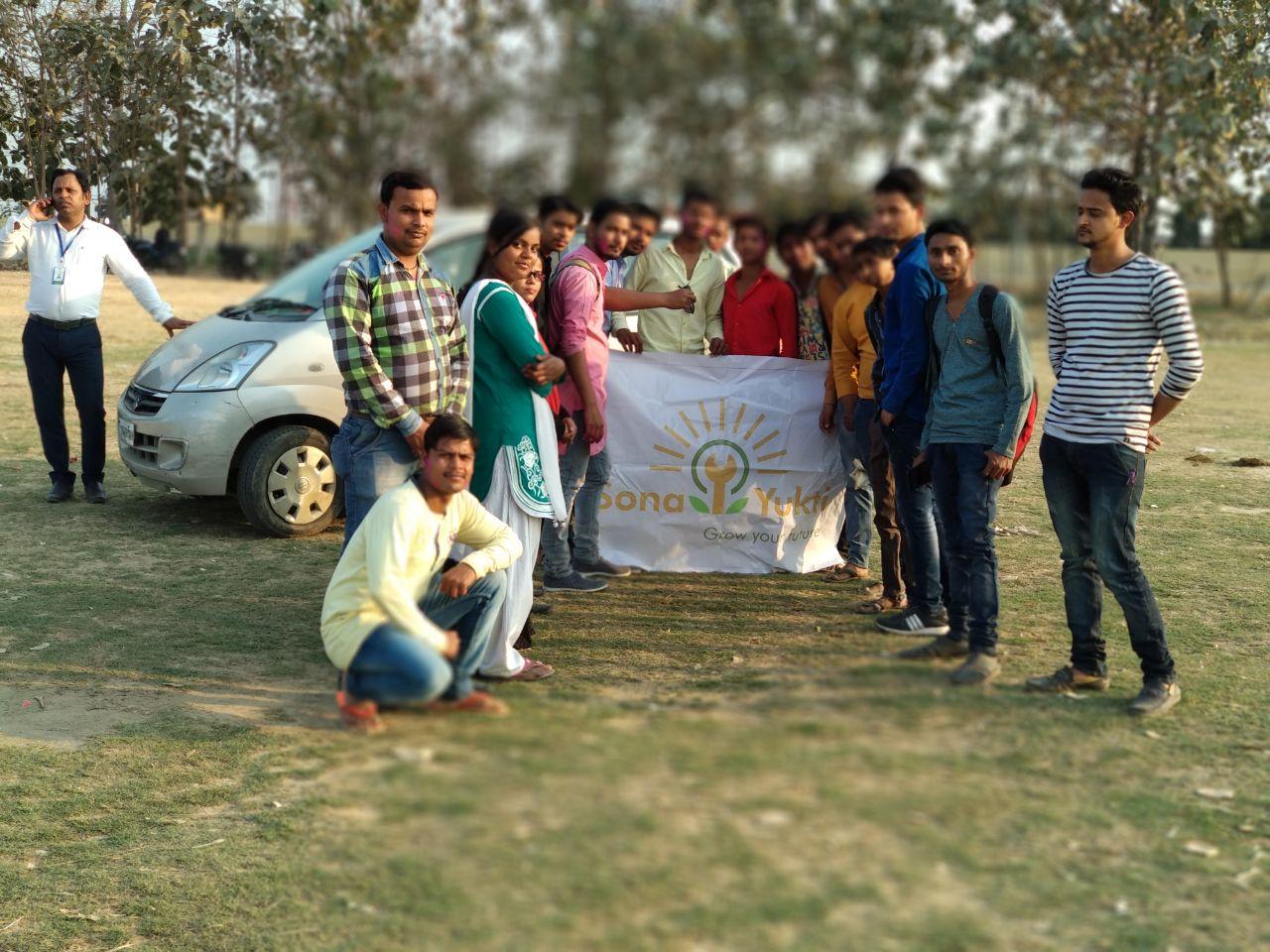 Car Training at Sona Yukti Gorakhpur