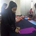 Fashion Designing by the NULM trainees at Sona Yukti's Jabalpur center