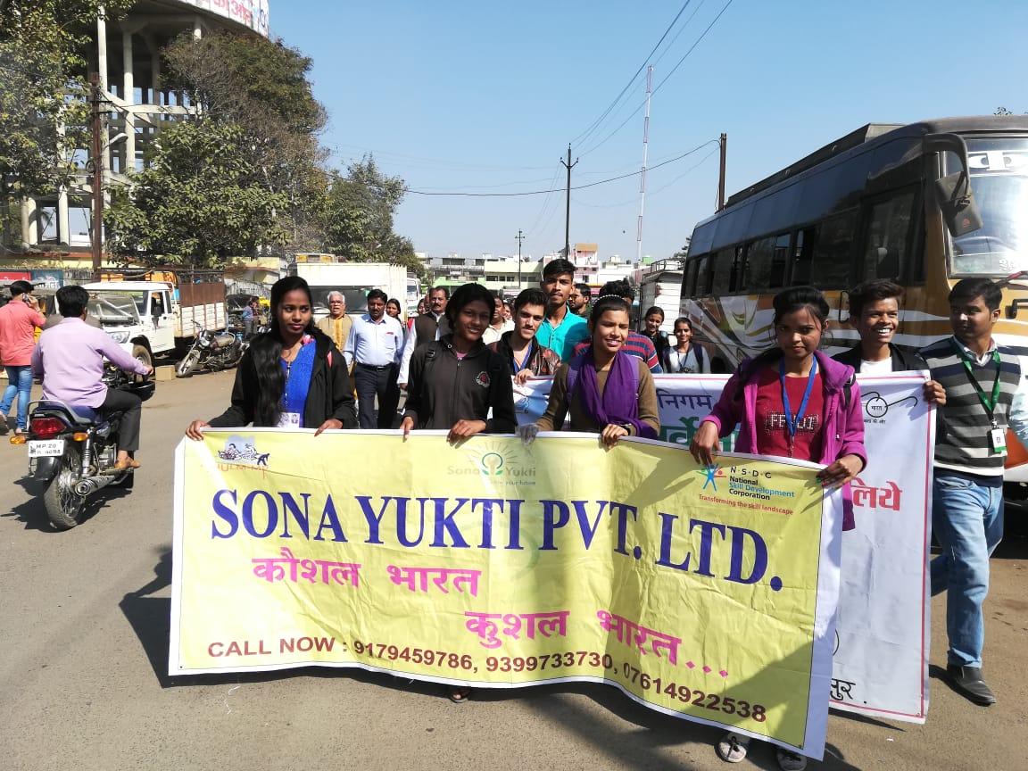 SonaYukti Jabalpur participated in Pick - Thon 2018