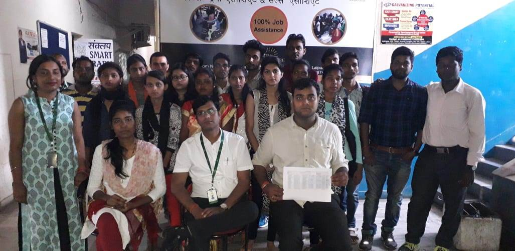 Information Technology(IT) & Information Technology Enabled Services(ITES) batch Assesmnet at Ranchi center