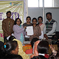 Certificate Distribution at Sona Yukti Jabalpur