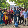 Employees celebrated World Environment Day by planting trees at Sona Yukti campus, Salem