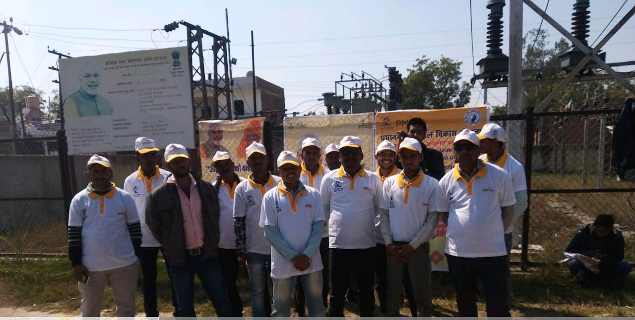 Saubhagya OJT & Kit Distribution Program by Sona Yukti at Fatehpur Khaga