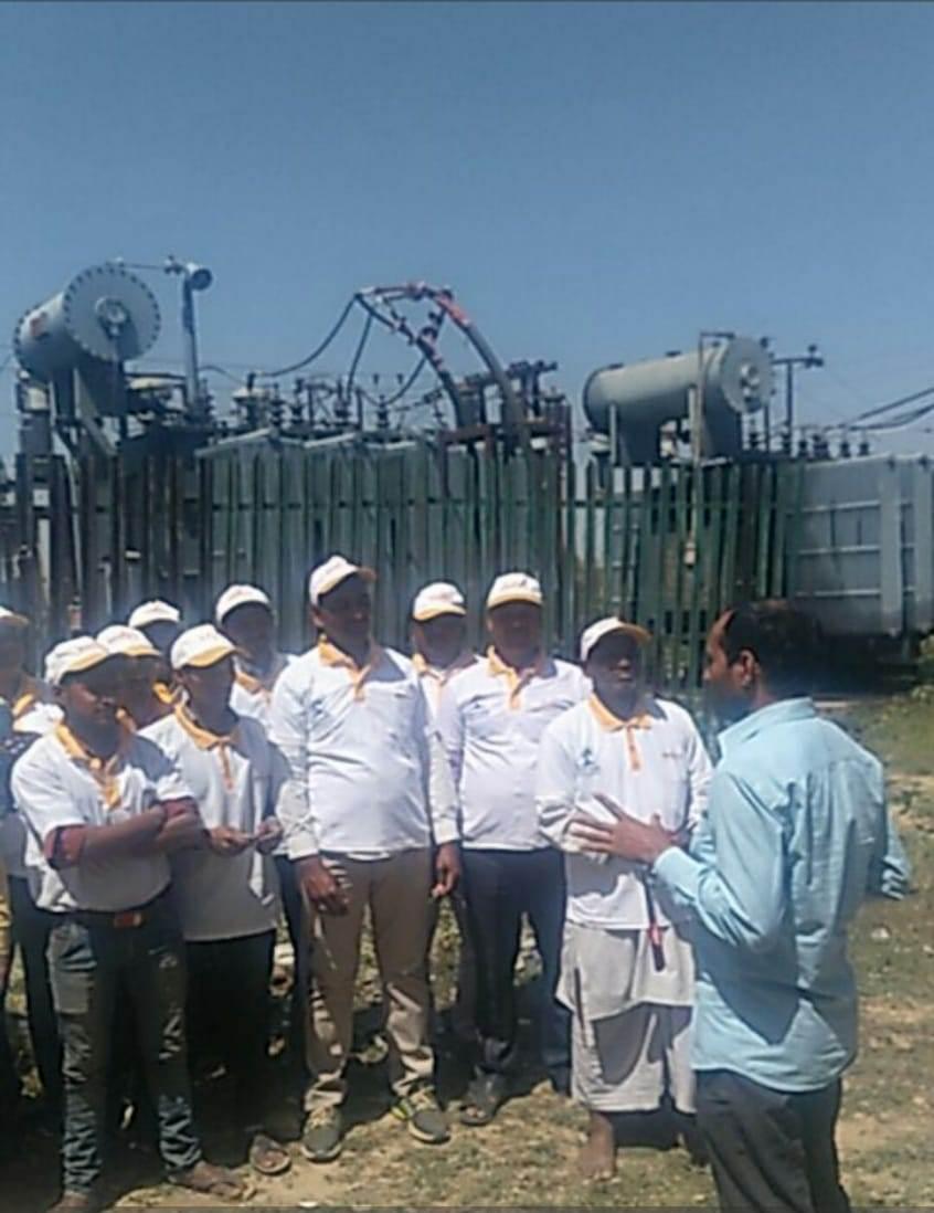 Saubhagya OJT & Kit Distribution Program by Sona Yukti at Ghazipur, UP, 19th to 24th March, 2019