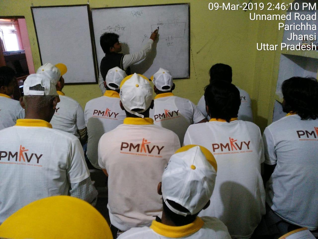 Saubhagya training program by Sona Yukti at Jhansi