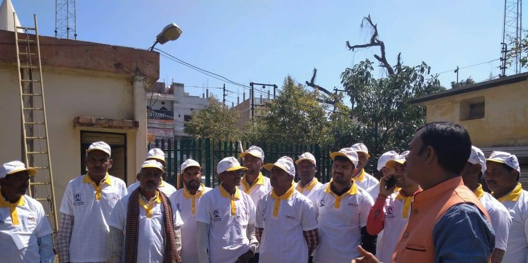 Saubhagya OJT & Kit Distribution Program by Sona Yukti at Mau, UP, 5th to 10th March, 2019
