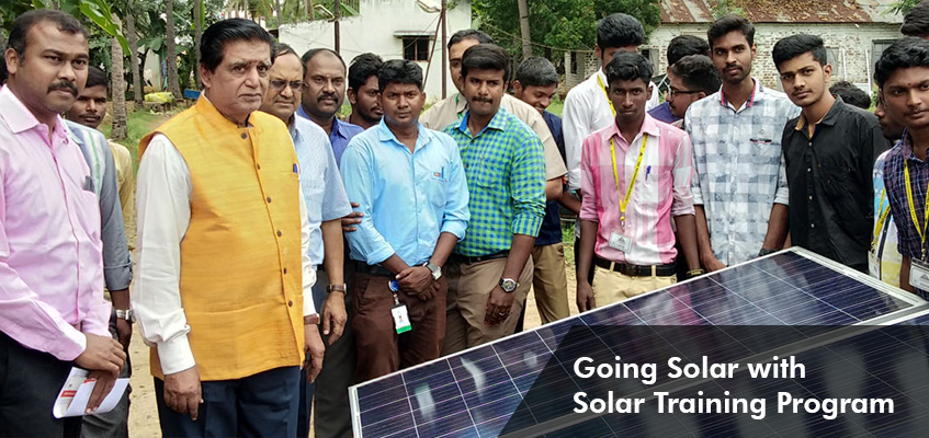 Going Solar with Solar Training Program