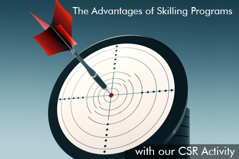 The Advantages of Skilling Programs With our CSR Activity - Sona Yukti