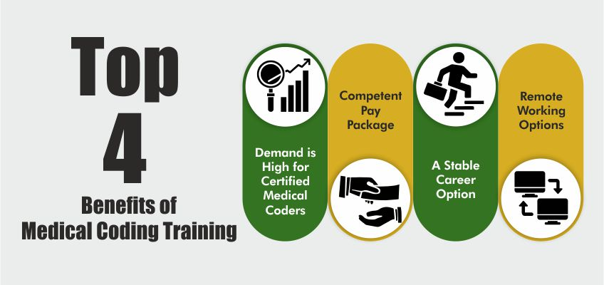 Top 4 Benefits of Medical Coding Training